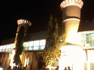 CellularJail-front-at-night