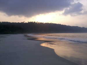 Early Morning at Radhanagar beach